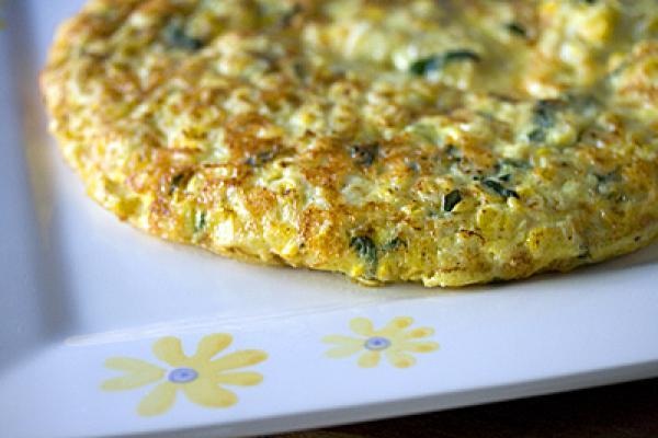 Omelete com linguiça Belchior